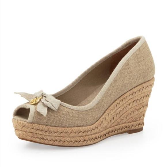 7694f8b37ce Tory Burch Jackie Espadrille Wedge Sandals